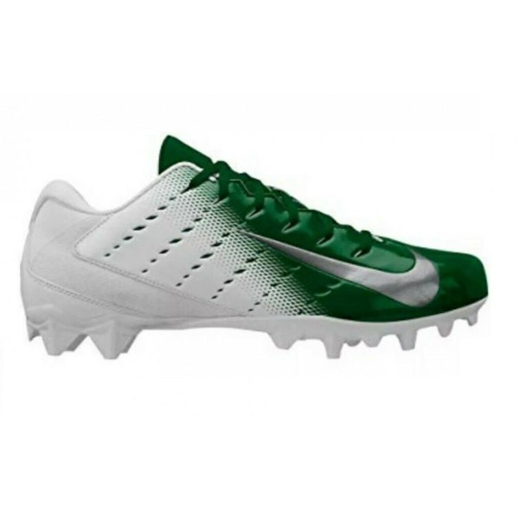 Nike Vapor Untouchable Varsity 3 TD white-green Football Cleats - 1