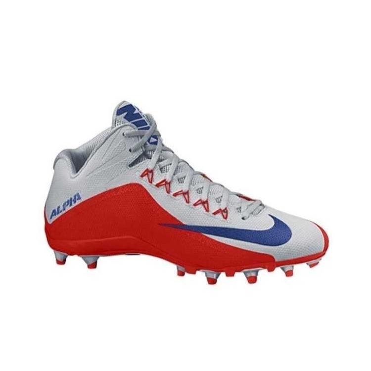 Nike Alpha Pro 2 NY Giants Silver/Red - 1