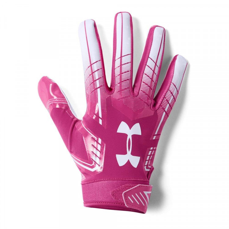 Under Armour F6 PINK - Football Gloves - 2