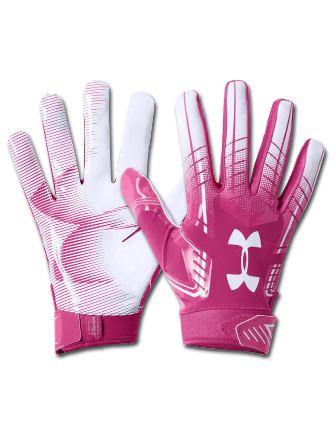 cartucho convertible uno  Under Armour F6 PINK - Football American Gloves - Sport House Shop