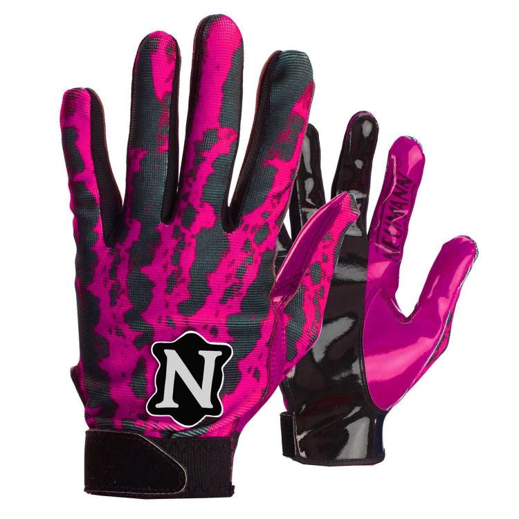 Neumann Receiver Rage Pink Rękawiczki futbolowe - 1 - RFBS-11-PINK