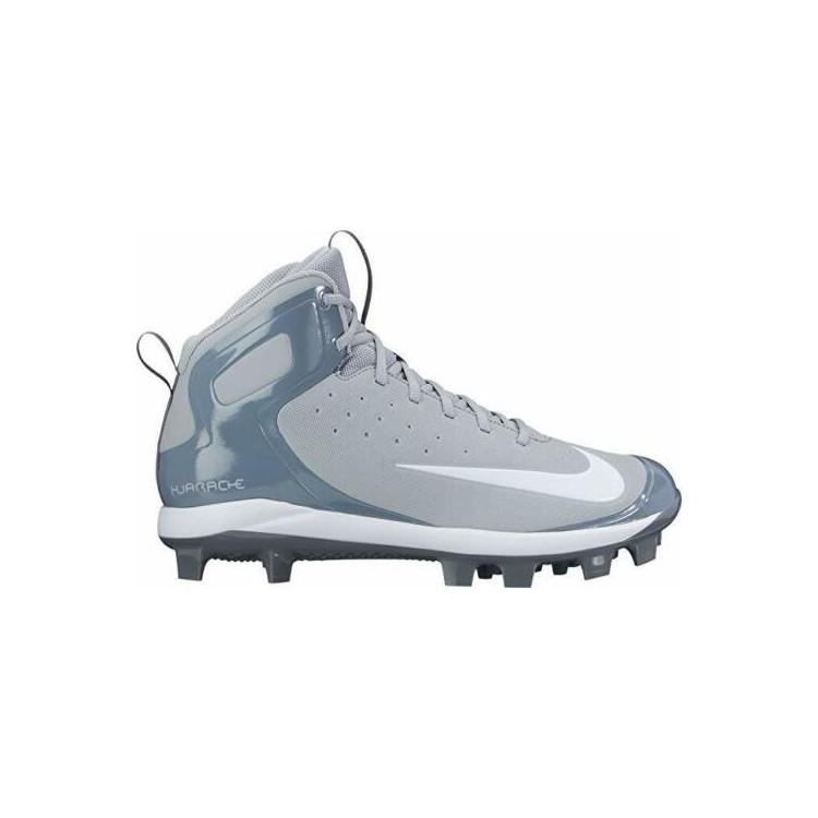Nike Huarache Pro Mid Grey Buty Baseballowe - 1 - 923433-010
