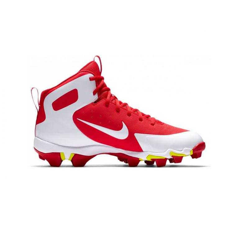 Nike Alpha Huarache Keystone Mid - Baseball Cleats - Red - 1
