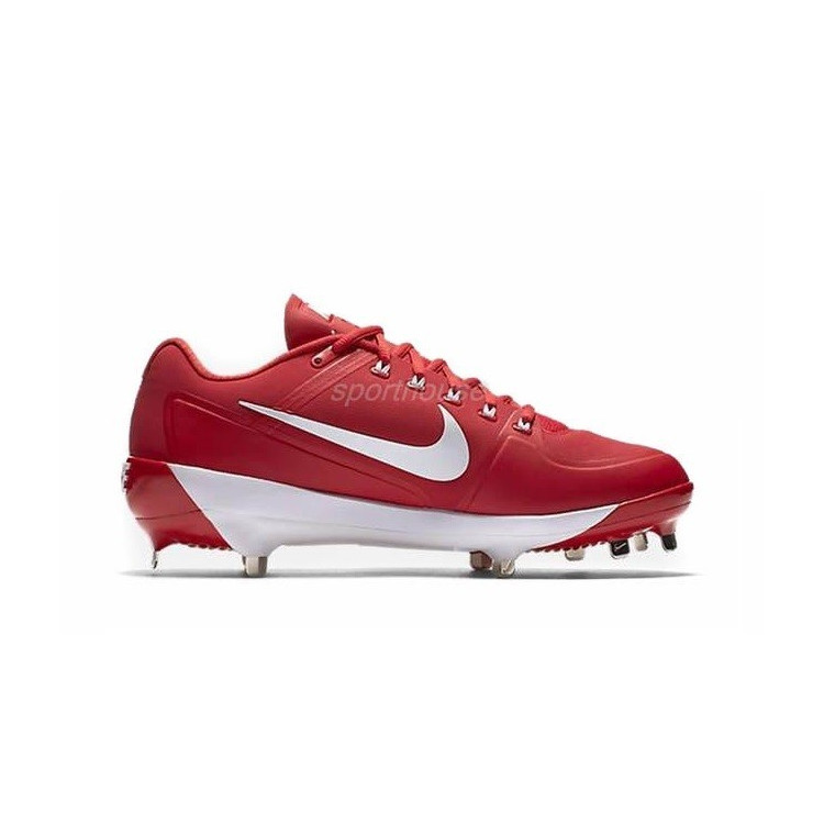 Nike Alpha Air Clipper '17 Men's Baseball Cleats -red - 1