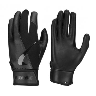 Nike Force Edge Black - Batting Gloves - 1