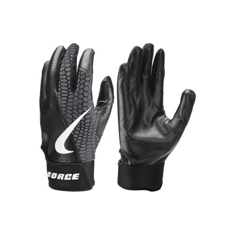 Nike Force Edge Baseball Gloves Black - 1