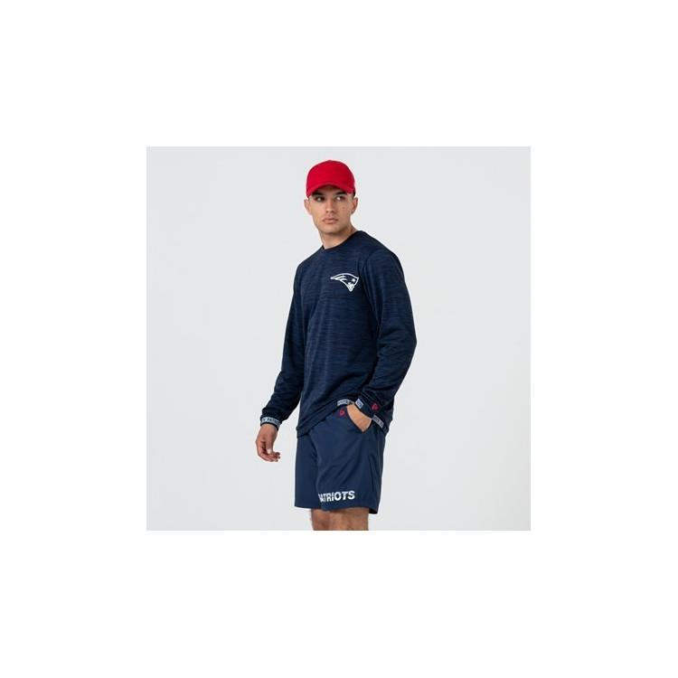 NFL New England Patriots T-shirt - długi rękaw - navy - 1 - 12033389
