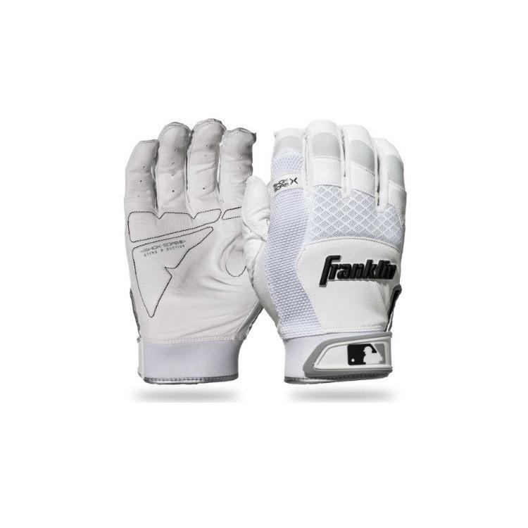 Franklin Shok-Sorb X Youth Batting Gloves YOUTH - 1
