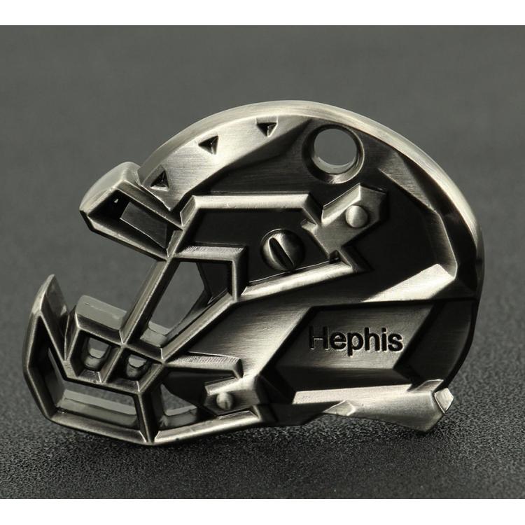 Beer opener - key ring - American Football Helmet - 1