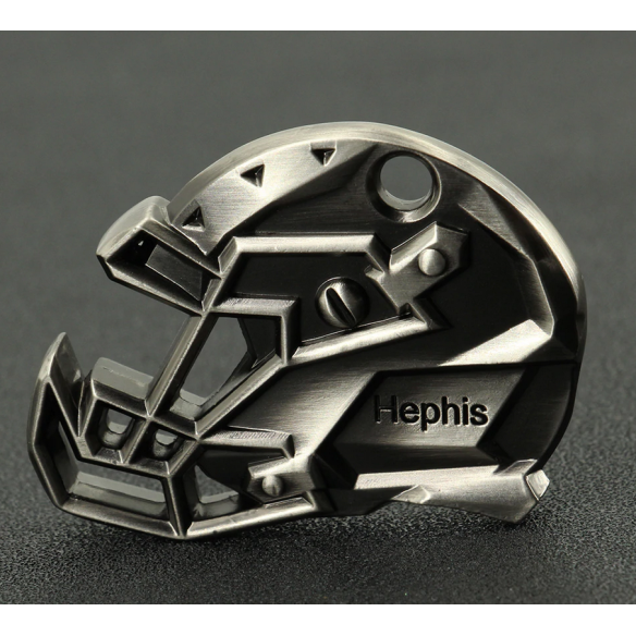 Beer opener - key ring - American Football Helmet - 1