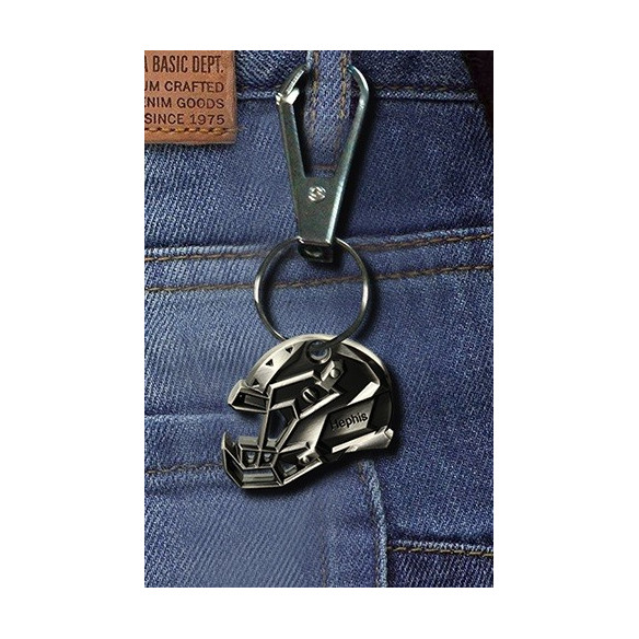 Beer opener - key ring - American Football Helmet - 4