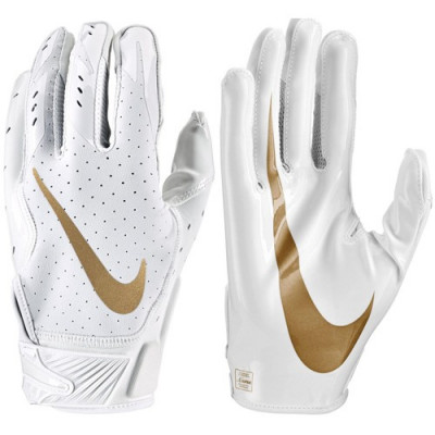 Nike Vapor Jet 5 - White Football Gloves - 4