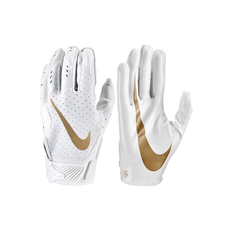 Nike Vapor Jet 5 - White Football Gloves - 4