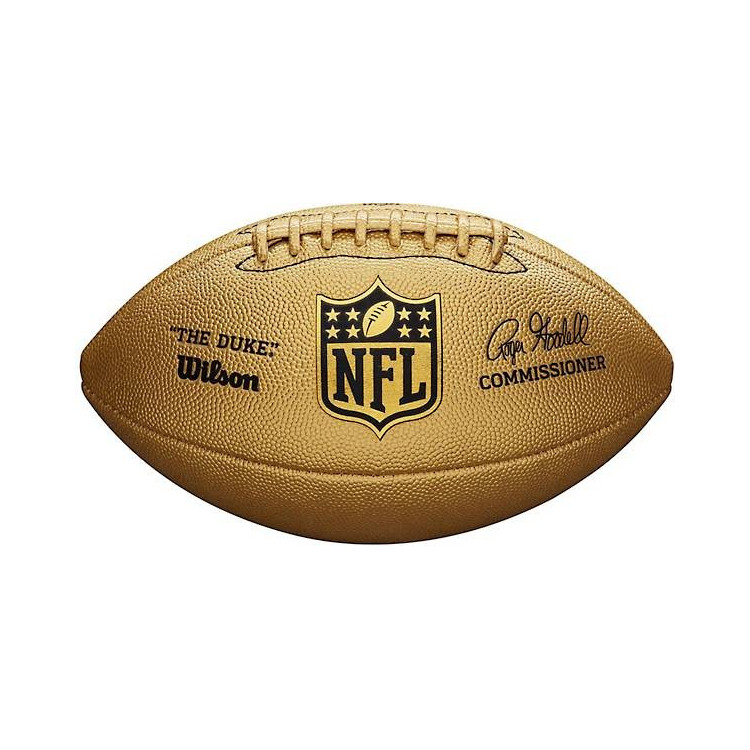 Wilson The Duke Metallic Edition Pro Replica Football - 1
