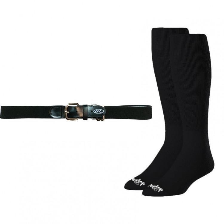 Rawlings Baseball Belt & Sock Combo - 1
