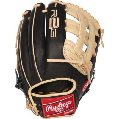 Rawlings PROR207 Black-beige 12,25 Inch - Rękawica do baseballu - 1 - PROR207-6BC-12.25