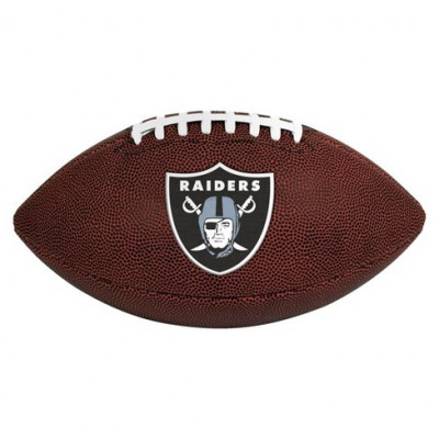 Football Wilson NFL LICENSED BALL Oakland Raiders - 1