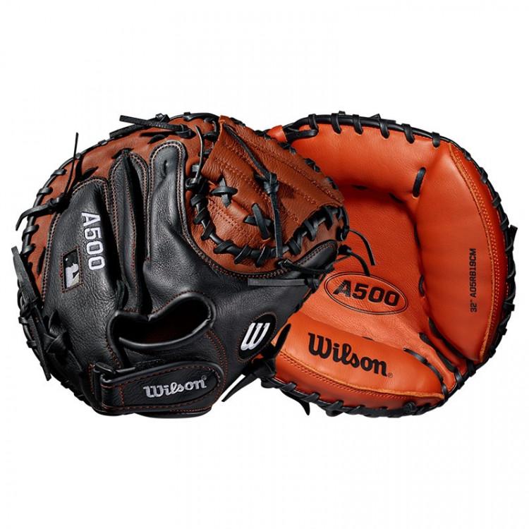 Wilson A500 Catcher Glove YOUTH - LH 31.5 cm - 1