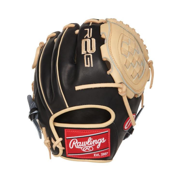 Rawlings BLK-Beige 10,75 Inch Baseball Glove - 1