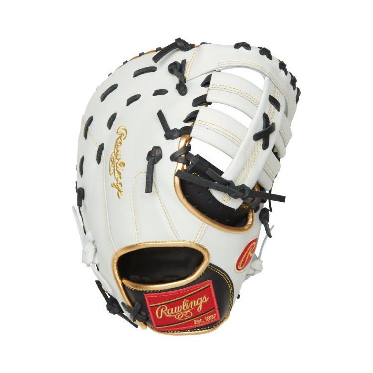 Rawlings ECFBM-10BW 12 Inch Baseball Glove - 1