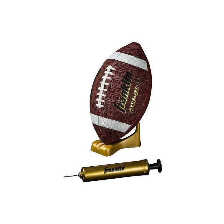 Franklin Grip-Rite Football, Pump and Tee Set - 1