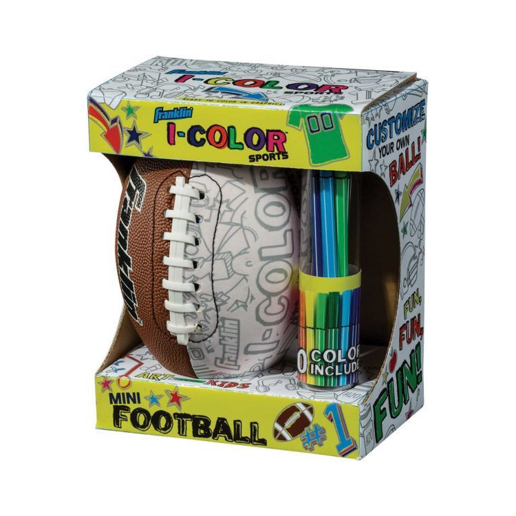 Franklin I-Color Football - 1 -