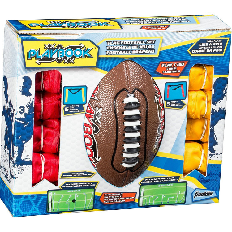 Franklin Mini Playbook Flag Football Kit - 1