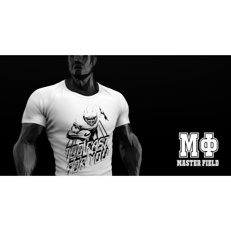 Koszulka Master Field TOO FAST FOR YOU Biała