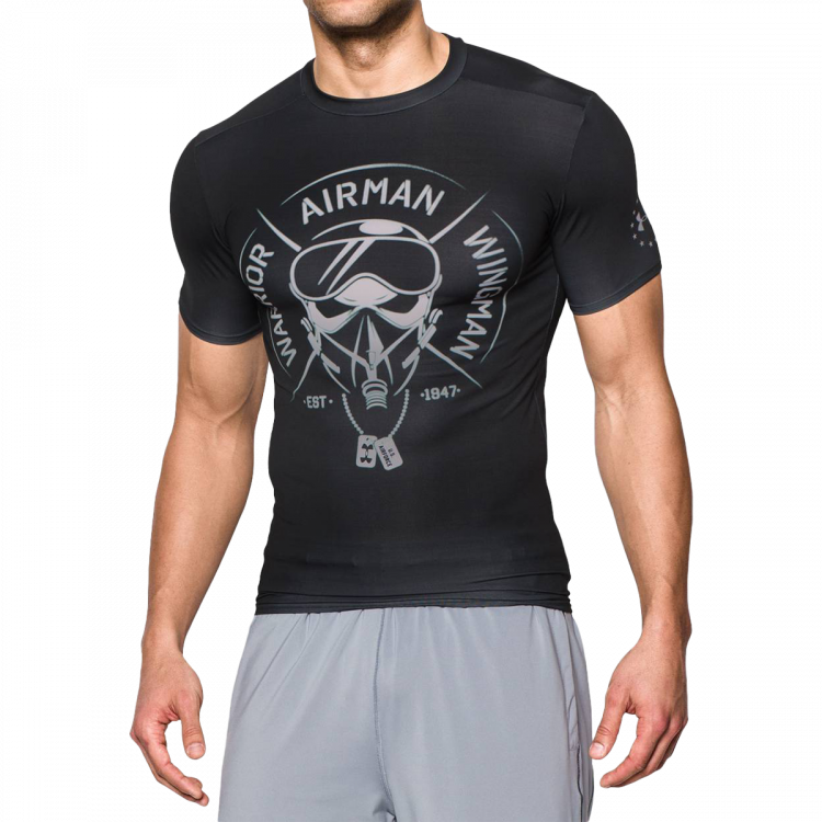 Koszulka Under Armour Freedom Army Compression
