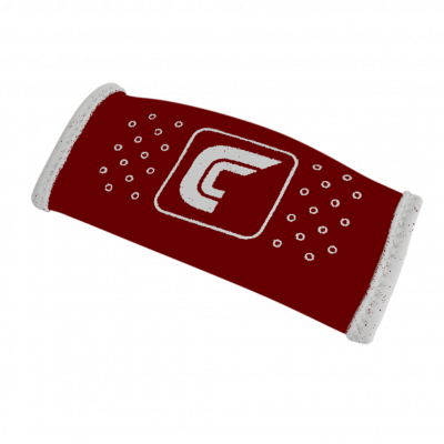 Chin Strap Cover Cutters Maroon