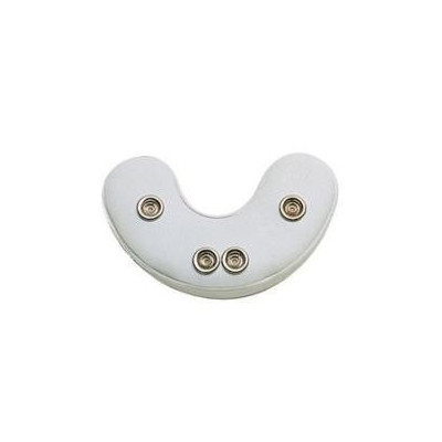 Ochraniacz na żuchwę Master Field Jaw Pads 1/2 - Biały