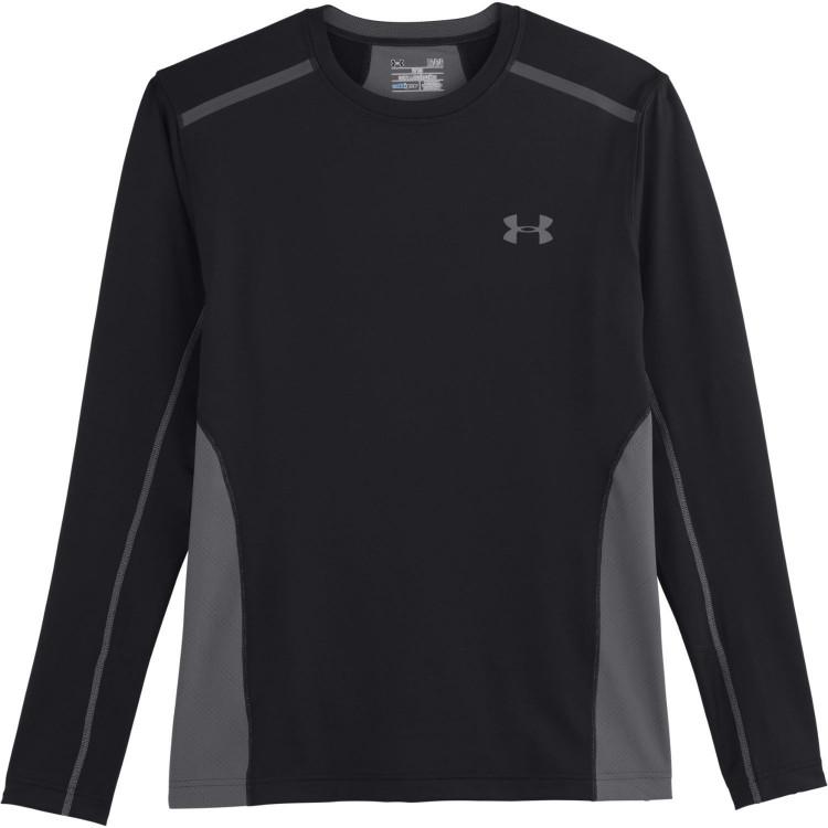 Koszulka długi rękaw UA ColdGear® ArmourVent™ Fitted Crew