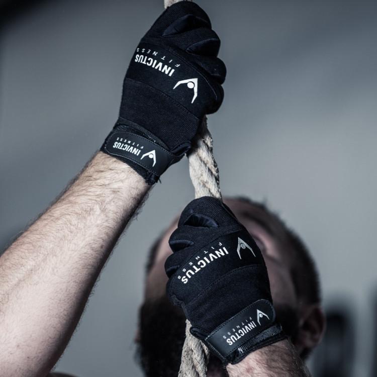 Rękawiczki Invictus Black Gloves