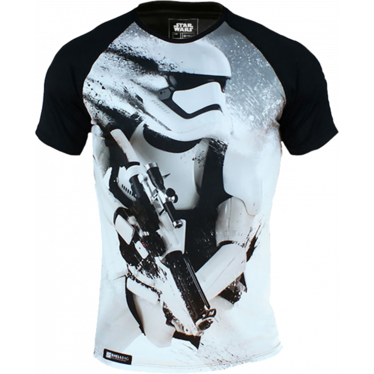 Koszulka RashGuard Star Wars Storm Trooper Biała