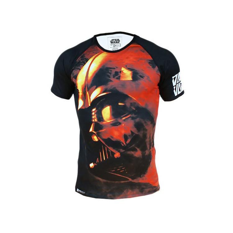 Koszulka RashGuard Star Wars Vader Czarna
