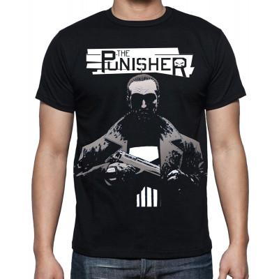 Marvel The Punisher White Koszulka