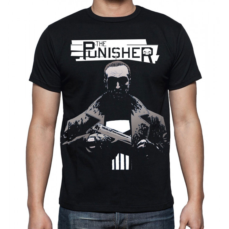 Marvel The Punisher White Koszulka