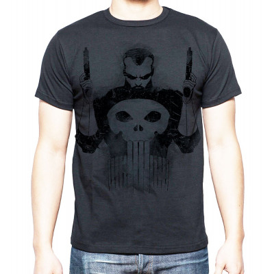 Marvel The Punisher Black T-shirt