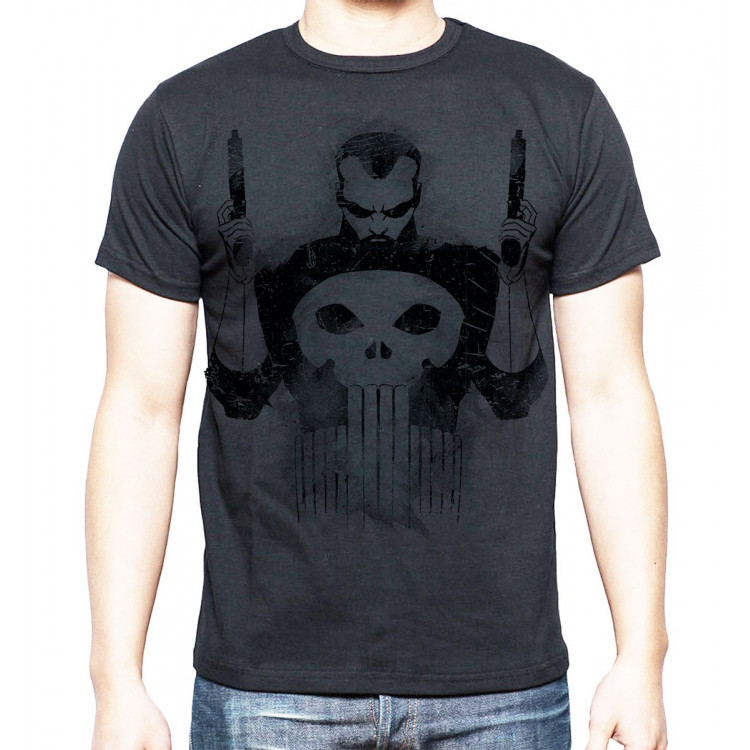 Marvel The Punisher Black Koszulka