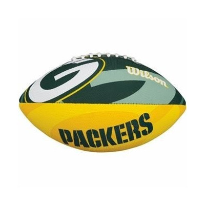 Football Wilson NFL Team Logo Rubber Green Bay Packers