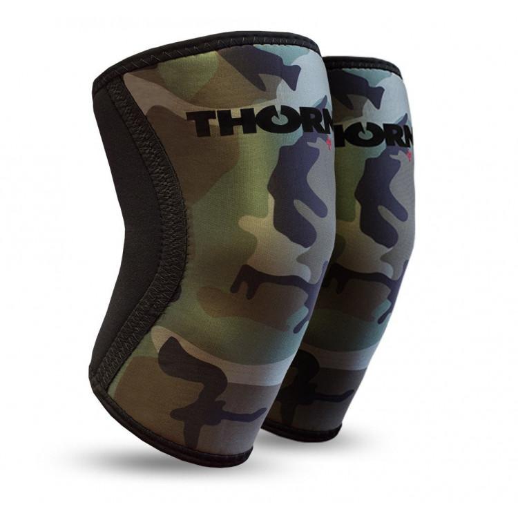 ŚCIĄGACZE KOLAN 6MM (CAMO) THORN+FIT Crossfit