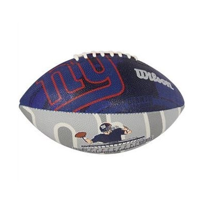 Piłka Futbolowa Wilson NFL Team Logo Rubber New York Giants