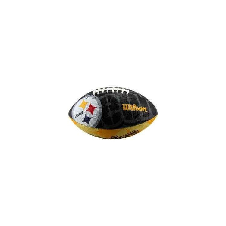 Piłka Futbolowa Wilson NFL Team Logo Rubber Pittsburg Steelers