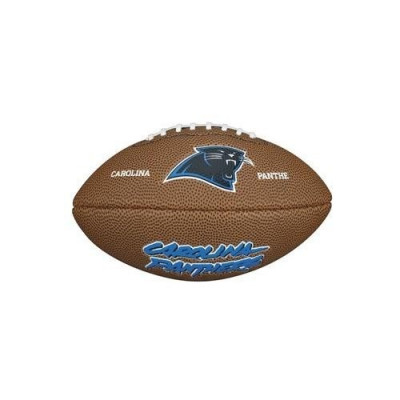 Piłka Futbolowa Wilson NFL Mini Team Logo Carolina Panthers