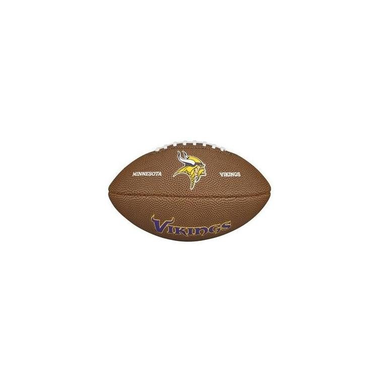 Piłka Futbolowa Wilson NFL Mini Team Logo Minnesota Vikings