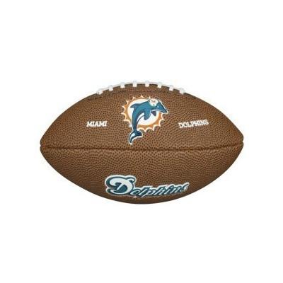 Piłka Futbolowa Wilson NFL Mini Team Logo Miami Dolphins
