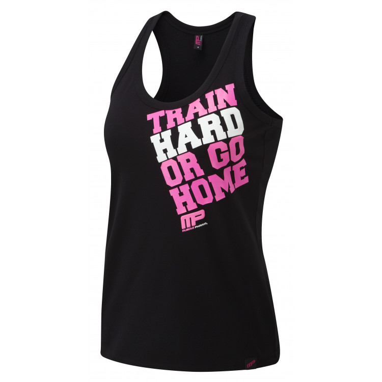 Ladies Top Hard Home Koszulka Muscle Pharm - 1