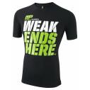 T-Shirt Weak Ends Here Koszulka Muscle Pharm