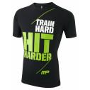 T-Shirt Train Hard Koszulka Muscle Pharm