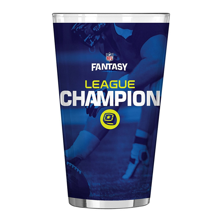 NFL Fantasy Football Sublimated Pint